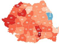 Cum arata astazi Romania. Cea mai noua harta demografica