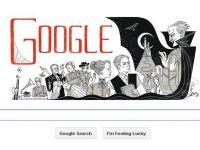 """Google sarbatoreste 165 de ani de la nasterea autorului romanului """"Dracula"""""""