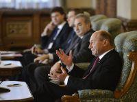 """Basescu catre delegatia FMI: """"Cand ati venit in vara, eu eram in vacanta, la garaj"""""""