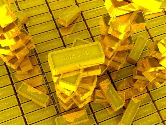 Bancher german: Aurul va trece de 2.000 dolari pe uncie in 2013. Bancile centrale tiparesc prea multi bani