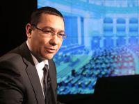 "Ponta: Tara puternica inseamna sa avem puterea sa spunem ""Nu"" la Bruxelles cand vor sa ne defavorizeze"
