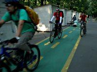 Pistele de biciclete din Bucuresti, declarate ilegale. 24 de milioane de lei, cheltuite degeaba