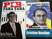 """Ziarul Financiar lanseaza duminica, la Gaudeamus, cartile """"Toti suntem datori c-un faliment"""", de Cristian Hostiuc si """"PIB-ul fara tara"""", de Sorin Pislaru"""