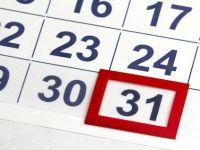 Guvernul declara libere zilele de 24 si 31 decembrie 2012