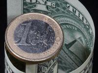La 15 ani de la introducerea in circulatie, moneda europeana isi pierde suprematia. Goldman Sachs: In 2017, dolarul va ajunge la paritate cu euro