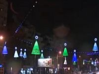 Bucurestiul de poveste. Peste doua milioane de beculete colorate lumineaza Capitala. VIDEO