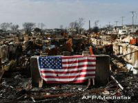 AIG estimeaza pierderi proprii de 1,3 miliarde de dolari in urma uraganului Sandy