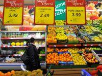 Rata anuala a inflatiei a scazut la 4,56%. Produsele care s-au ieftinit cel mai mult in noiembrie