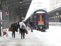 CFR Calatori: Trenurile ar putea avea intarzieri in aceasta dimineata, din cauza conditiilor meteo