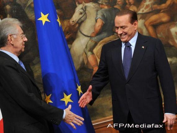 Berlusconi: Italia ar putea fi fortata sa paraseasca zona euro