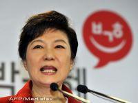 O femeie a castigat, pentru prima data, alegerile prezidentiale din Coreea de Sud