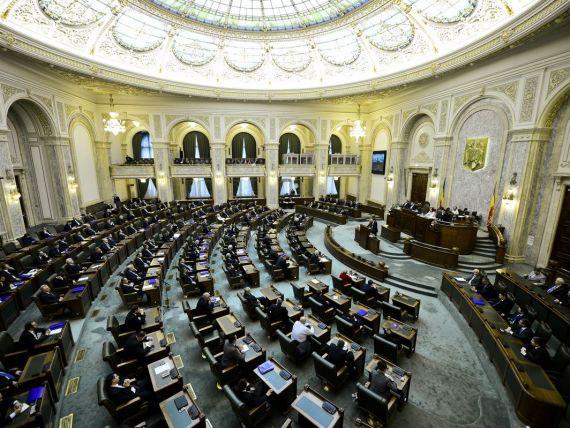 Amnistierea pensionarilor si a mamelor nu a mai fost votata. Sesiunea extraordinara a Senatului, suspendata din lipsa de cvorum dupa ce ACL a parasit sala