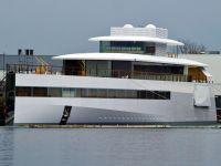 Iahtul de lux al lui Steve Jobs, confiscat de un designer francez