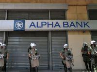 Alpha Bank inregistreaza pierderi de 15,7 mil. euro in primele 9 luni ale anului