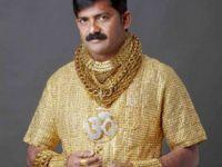 Un indian si-a facut o camasa de aur de 24 de carate, ca sa atraga doamnele