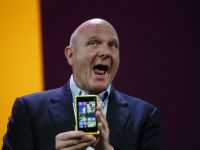 Seful Microsoft, aparitie surpriza la CES
