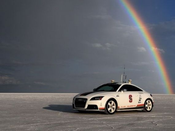 Germania, cu 50 de ani in fata tuturor. Audi, prima companie auto care primeste bdquo;licenta Star Trek