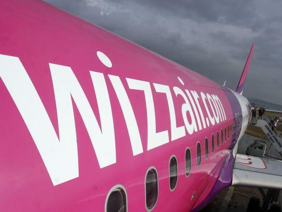 Wizz Air a transportat anul trecut 2,7 milioane de pasageri din si spre Romania