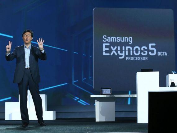 Samsung a lansat la CES un procesor mai puternic si mai rapid pentru smartphone-uri