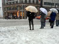 Un mort si peste 900 de raniti in urma ninsorilor din estul Japoniei