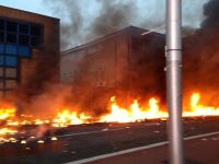 Un elicopter s-a prabusit in centrul Londrei si a explodat pe South Bank, in apropiere de MI6