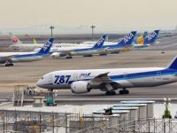 Jumatate din noile avioane Boeing 787, retinute la sol. Actiunile companiei au scazut cu cateva procente pe Wall Street