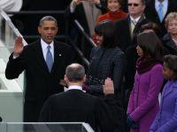 Barack Obama a depus juramantul pentru al doilea mandat in fata a 800.000 de americani
