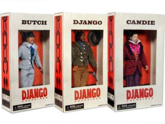 Papusi inspirate de personajele din filmul  Django Unchained , retrase de pe eBay