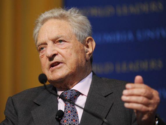 Soros:  O economie in criza este ca o masina care derapeaza