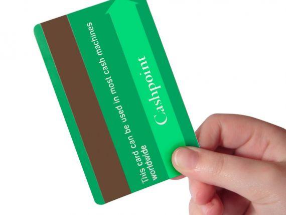 Tranzactiile cu cardul pentru plata impozitelor si taxelor au crescut anul trecut cu 30%