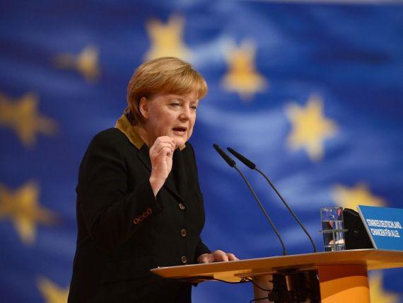 Angela Merkel are un salariu mai mic decat mii de functionari ai UE