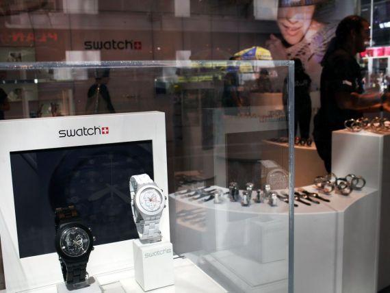 Industria de lux prospera. Pe ceasul  premium  Swatch, timpul arata doar profit dupa profit