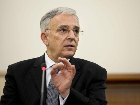 Isarescu:  BNR are o prognoza pentru inflatie de 5-6% pentru prima jumatate a anului