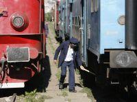 Sindicalistii din transporturi feroviare picheteaza Ministerul Finantelor, nemultumiti de salarii si reducerea numarului de trenuri