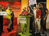 Paula Seling, Andreea Banica, Ovi si Marius Rizea, gazdele showului Eurovision Romania 2013