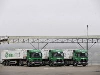 Circulatia autovehiculelor grele a fost restrictionata pe autostrazile din Slovenia