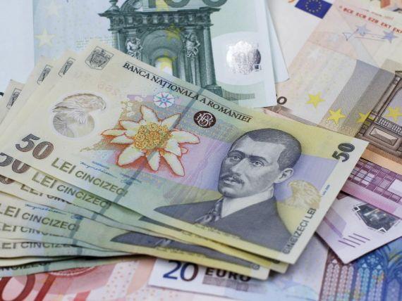 Euro coboara sub 4,38 lei. Cursul BNR de miercuri a ajuns la 4,3779 lei/euro