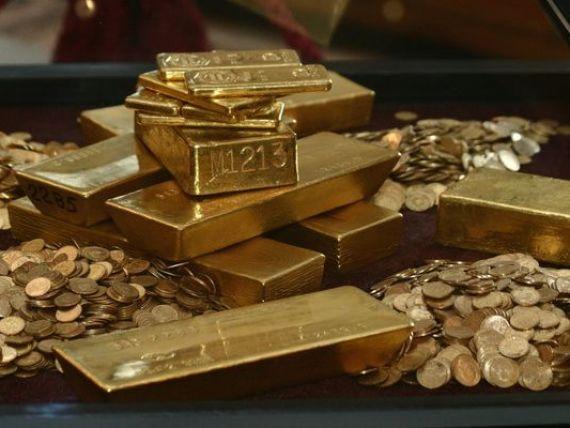 Statele lumii detin 31.600 tone de aur. Cea mai mare cantitate se afla in tari din Europa