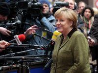 Merkel da Germania de Est exemplu tarilor europene cu probleme economice