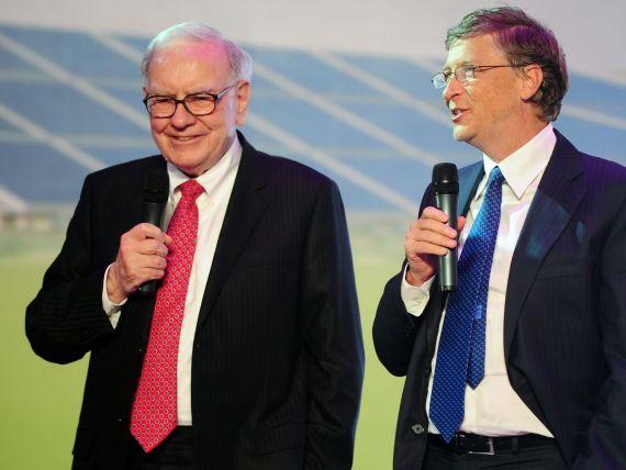 Pariu de sute de miliarde. Bogatii lumii, convinsi de Buffett si Gates sa-si cheltuiasca averile in noul lor proiect
