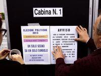 """""""Italia voteaza in incertitudine"""" prioritatile economice pentru urmatorii 4 ani. Vot crucial pentru a treia economie a zonei euro"""