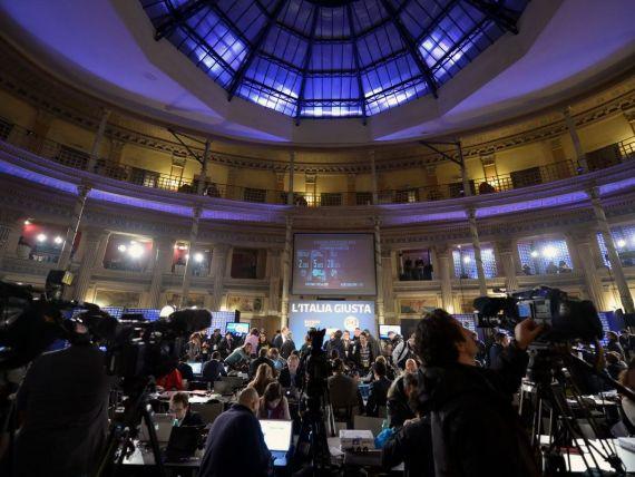 Impas in Italia dupa succesul lui Grillo si revenirea lui Berlusconi in alegeri