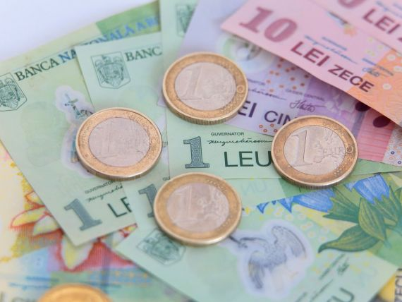 Salariul mediu net a scazut cu 8,8% in ianuarie, la 1.548 lei. Cea mai mare leafa s-a incasat in transporturi aeriene