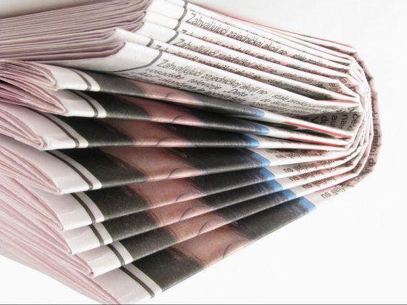 Vanzarile ziarelor romanesti au scazut in ultimul trimestru din 2012