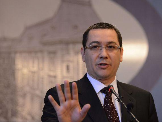 Ponta cere ministrilor propuneri pentru reducerea cu 15% a cheltuielilor de personal si servicii