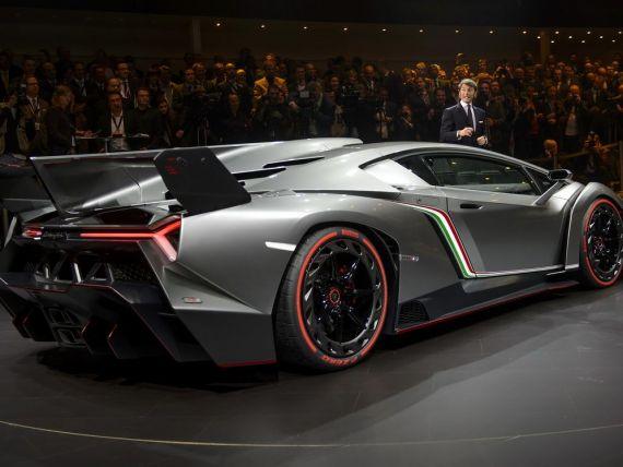 Lamborghini Veneno, printre cele mai scumpe masini construite vreodata, va fi produs doar in 3 exemplare
