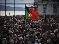 Proteste la Lisabona fata de masurile de austeritate din transporturi