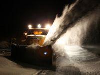 Ninsorile abundente au paralizat transporturile in vestul Ucrainei