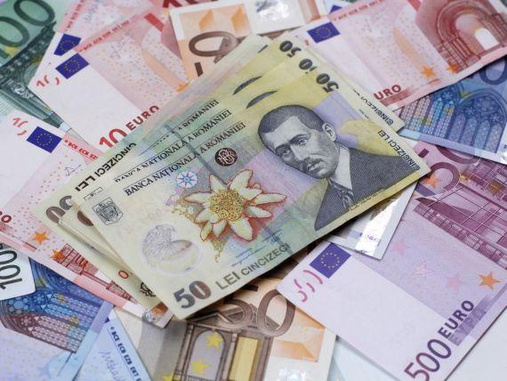 Leul a pierdut avansul de la inceputul sesiunii; cursul a urcat spre 4,4150 lei/euro