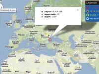 Cutremur cu magnitudinea de 4,8, inregistrat marti in Marea Neagra